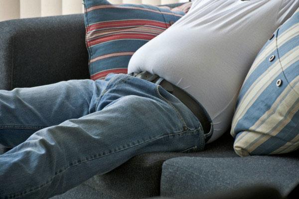 علت نفخ - درمان نفخ - باد روده - گاز معده