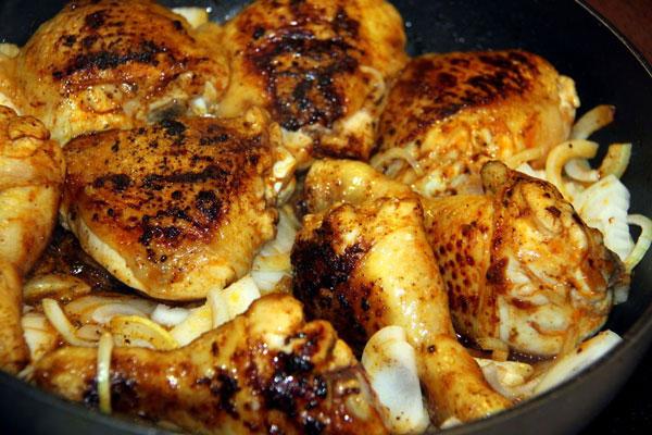 طرز تهیه مرغ با سرکه بالزامیک , مرغ مجلسی