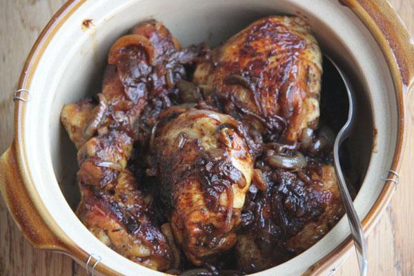طرز تهیه مرغ با سرکه بالزامیک