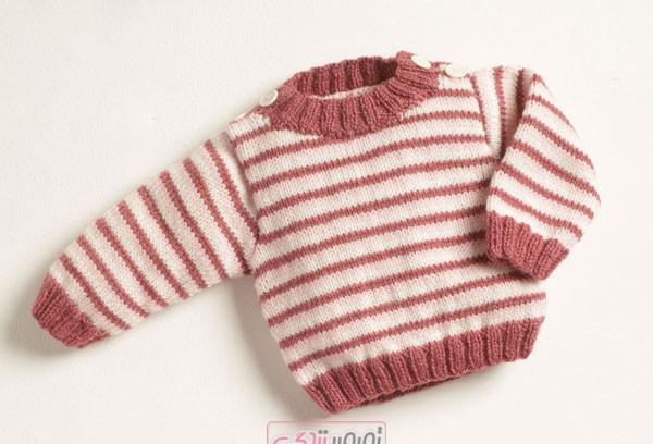 مدل بلوز بافتنی بچه گانه , سیسمونی دستباف , بلوز دستباف بچگانه