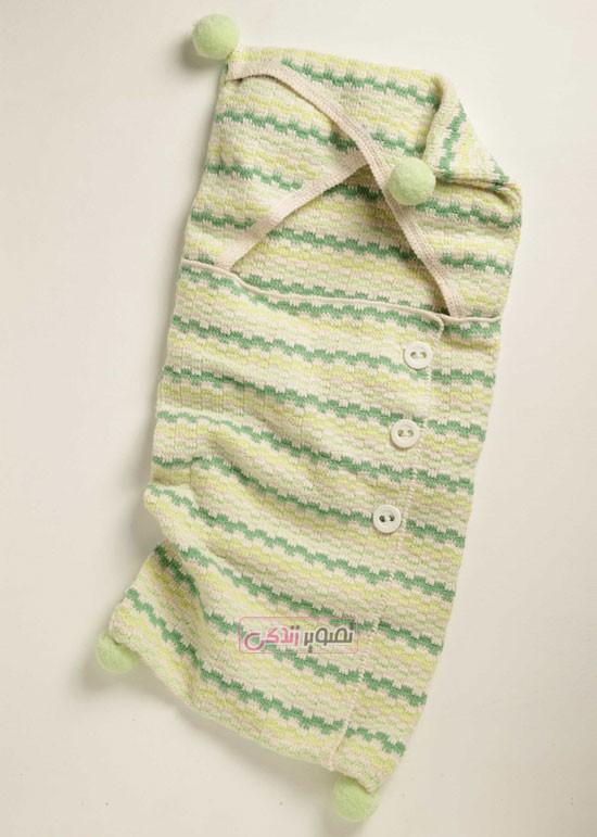 مدل لباس بافتنی بچه گانه , سیسمونی دستباف , قنداق فرنگی دستباف بچگانه