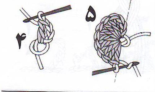 آموزش قلاب بافی - بافت دایره - موتیف دایره