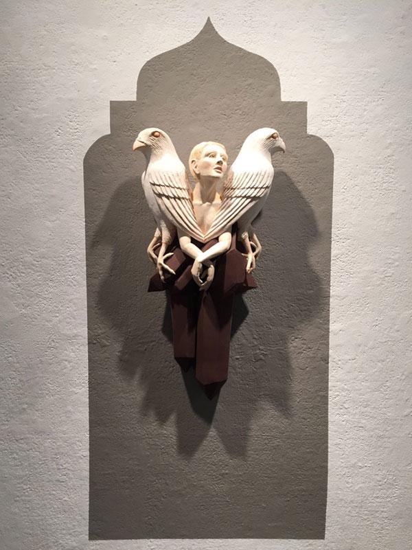 تصاویر دیدنی کلیپ و عکس  , مجسمه های خلاقانه کریستال موری