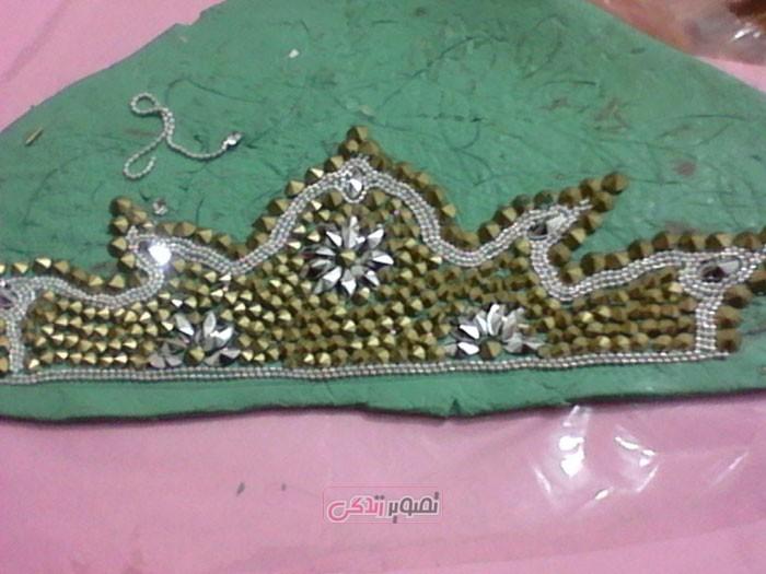 آموزش ساخت تاج ژله ای عروس