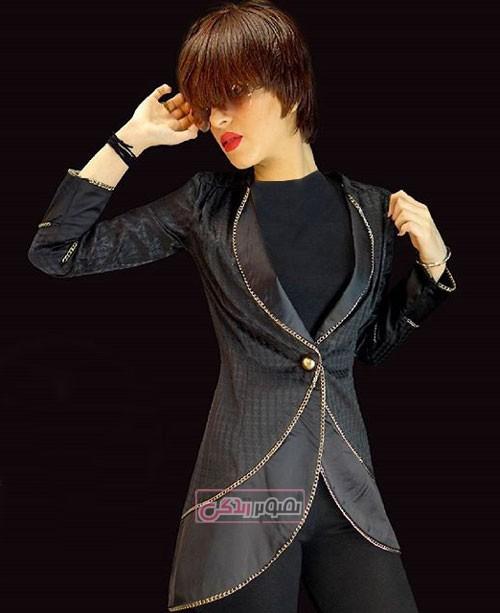 مدل مانتوهای مجلسی - مانتو دخترانه
