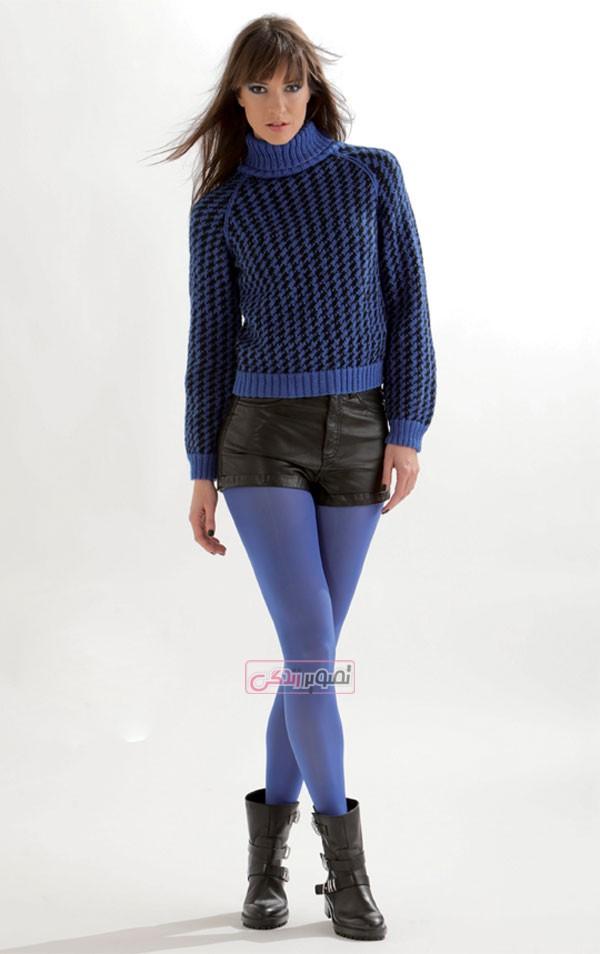 مدل لباس دستباف زنانه - بلوز بافتنی
