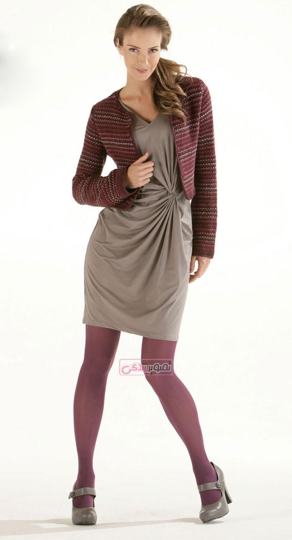 مدل ژاکت بافتنی - مدل کت بافتنی - لباس زمستانی
