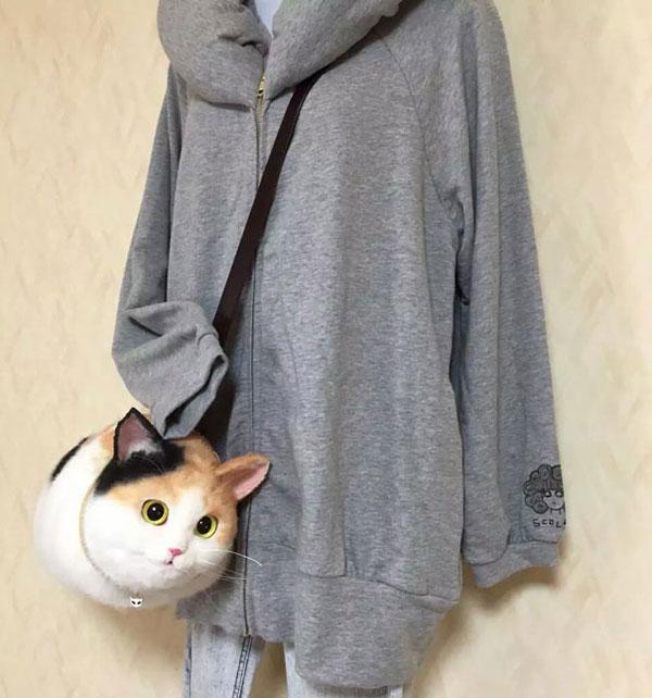 کیف هایی به شکل گربه برای علاقمندان گربه ها
