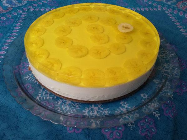 طرز تهیه چیز کیک ژله ای