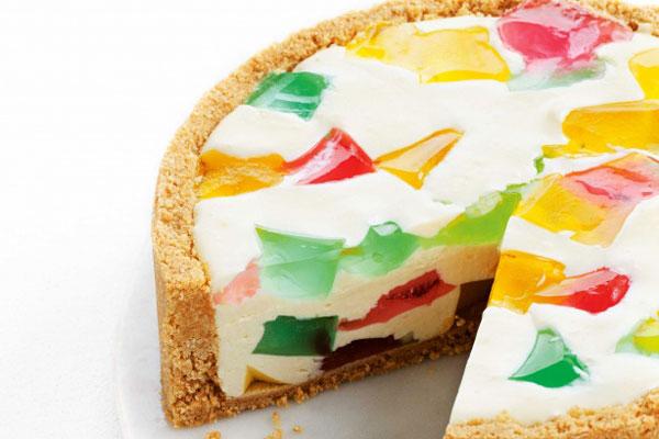 نان، شیرینی، دسر  , طرز تهیه چیز کیک ژله ای