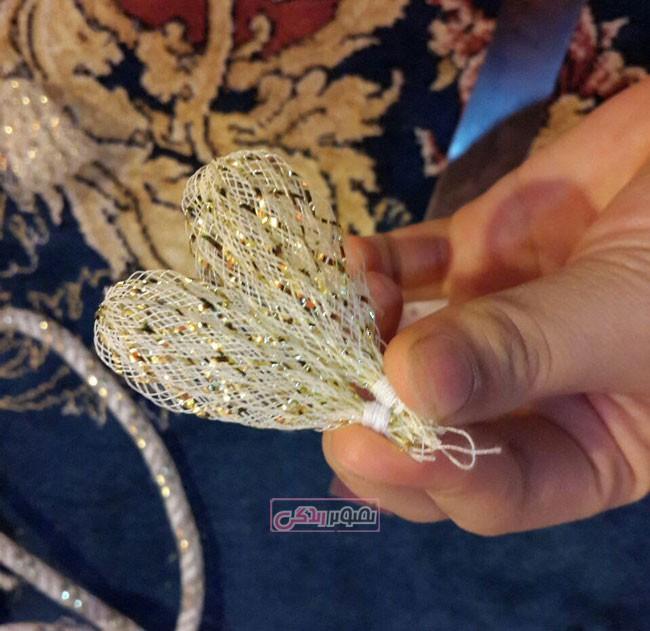 گلسازی - ساخت گل روبانی - تزیین گیره سر - گل سر