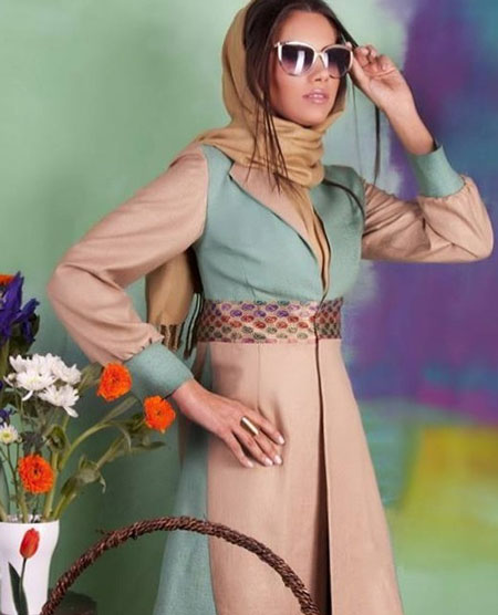 مدل مانتو پاییزه - مدل مانتو دخترانه - مدل مانتو جدید