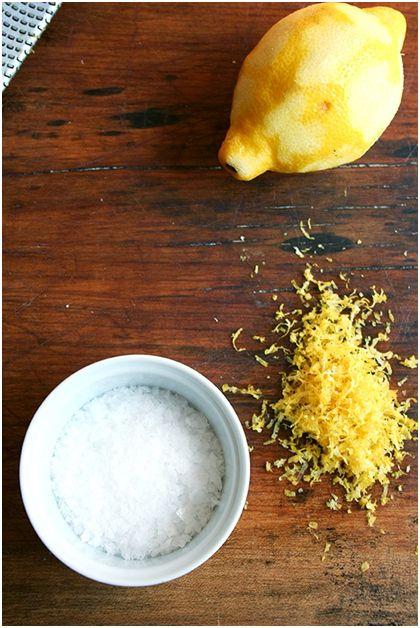 طرز تهیه سیب زمینی با طعم لیمو نمکی