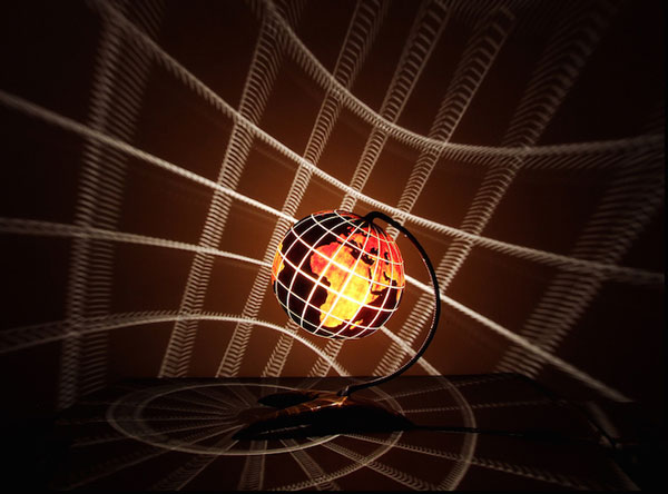 خلق لامپ های شگفت انگیز کدو حلوایی - چراغ خواب کدو حلوایی