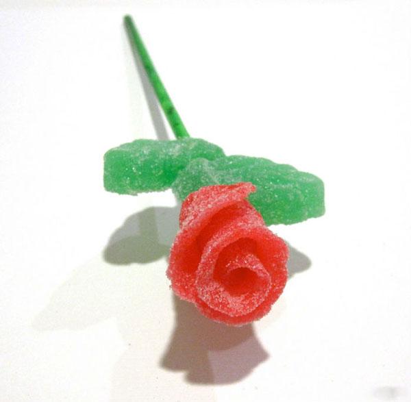 تزیین کیک - گل رز پاستیلی - گل رز شکری