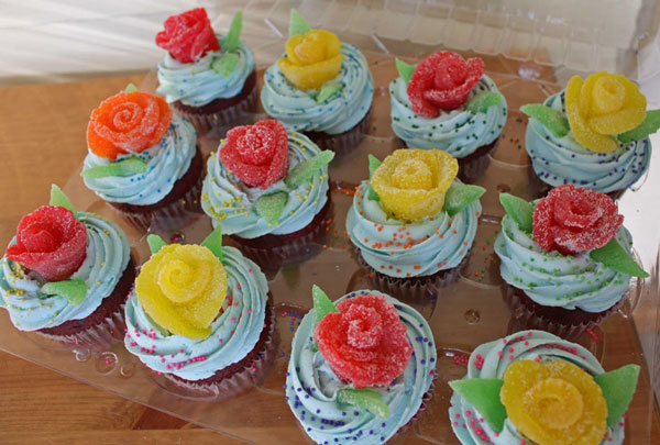تزیین کیک - ساخت گل رز پاستیل شکری