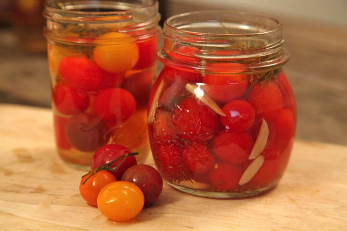 طرز تهیه گوجه شور - شور گوجه فرنگی