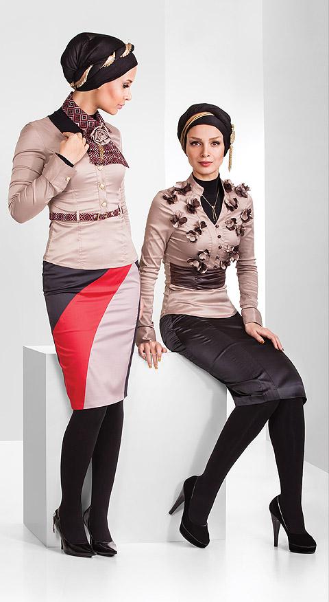 مدل لباس مجلسی زنانه - کت دامن مجلسی