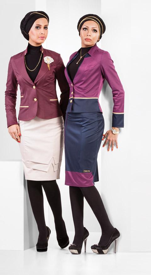 مدل کت دامن مجلسی زنانه - لباس مجلسی