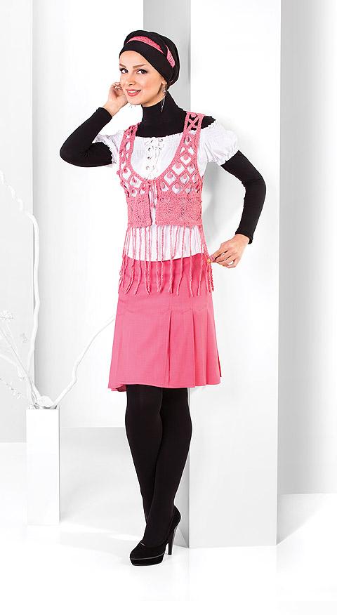 مدل لباس مجلسی زنانه - بلوز دامن مجلسی