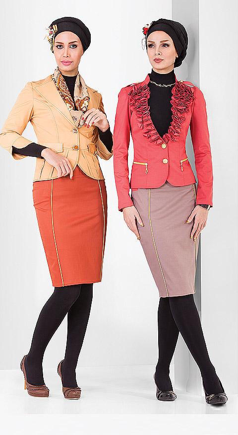 مدل کت و دامن مجلسی - لباس مجلسی زنانه