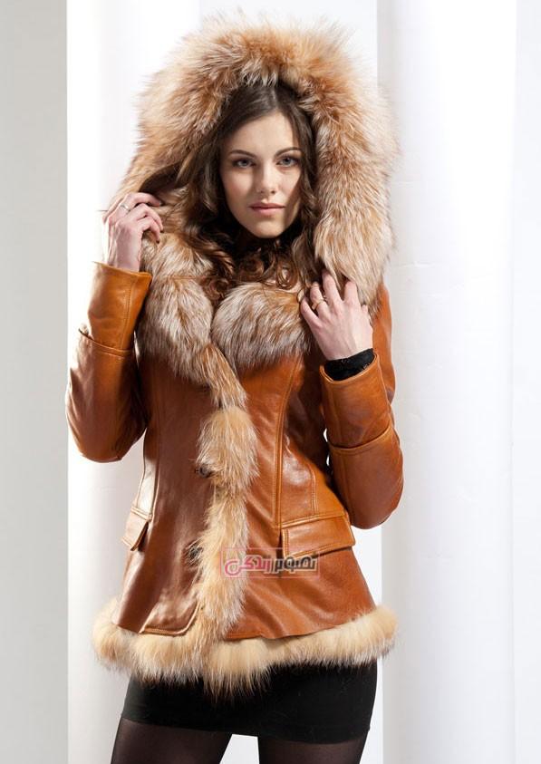 مدل کت چرم زنانه - مدل پالتو زنانه - لباس چرم زنانه