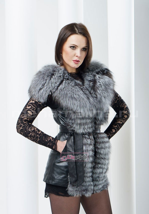 مدل جلیقه زنانه - مدل پالتو زنانه - لباس چرم زنانه