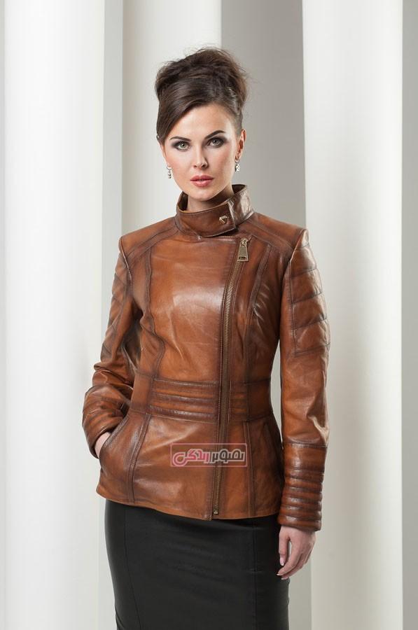 مدل کت زمستانی زنانه - مدل پالتو زنانه - لباس چرم زنانه