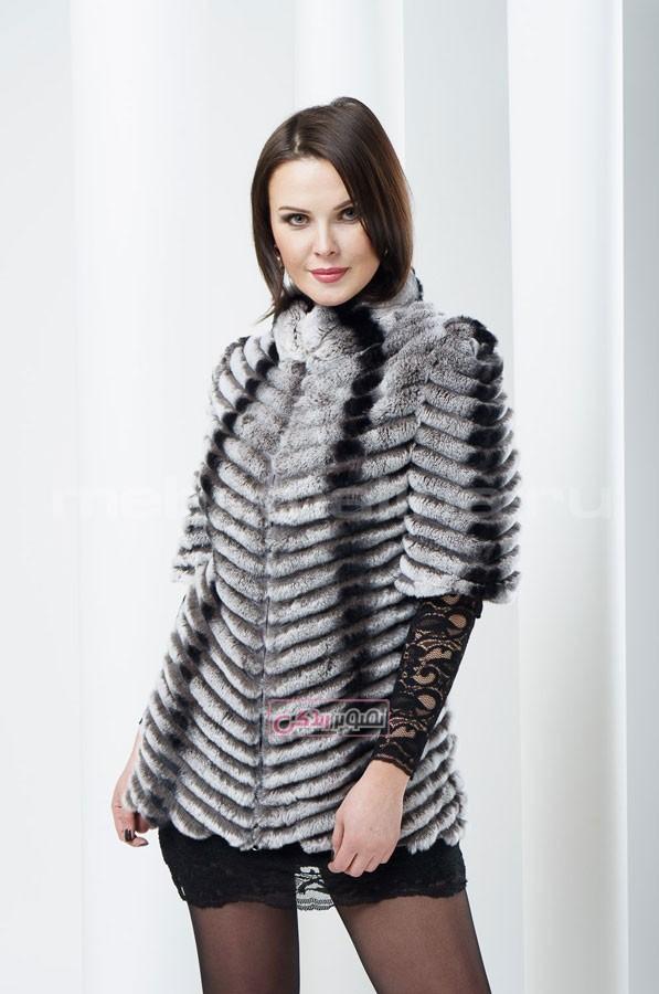 کت خز زنانه - مدل پالتو زنانه - لباس چرم زنانه