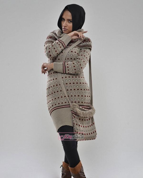 مدل مانتو بافت زمستانی - تونیک بافتنی دخترانه