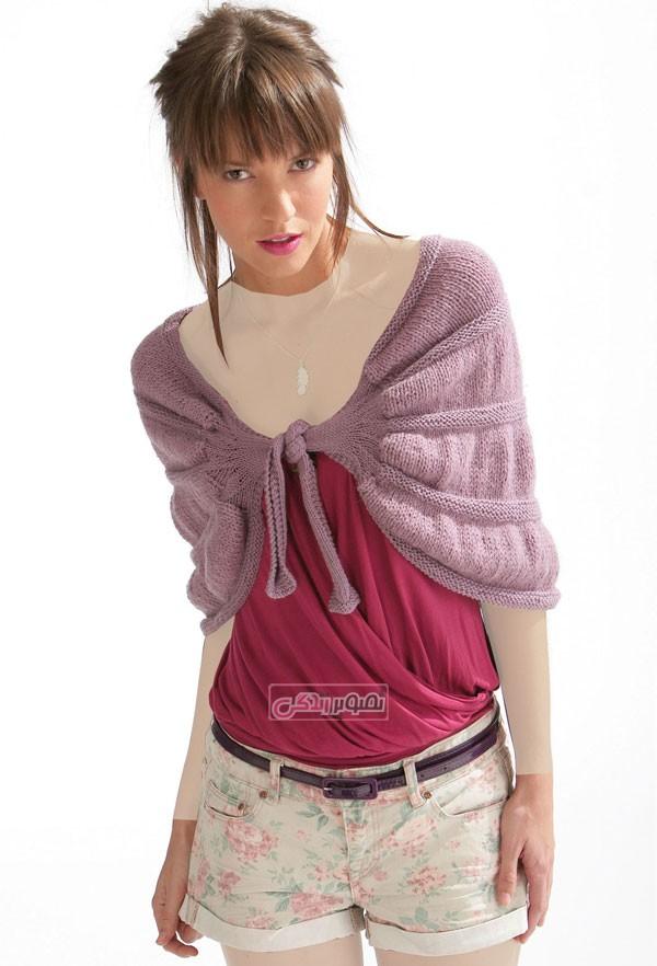 مدل پلیور دخترانه , مدل بافتنی دخترانه , لباس زمستانی دخترانه
