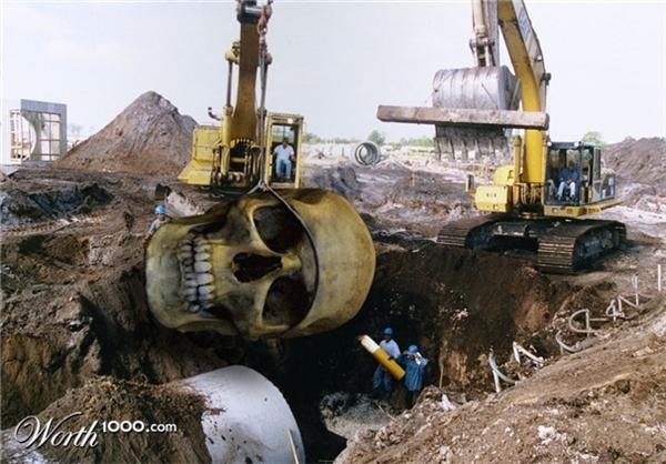 اخبار اخبار گوناگون  , کشف اجساد انسان های غولپیکر در عربستان