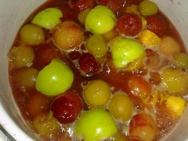 انواع لواشک - طرز تهیه لواشک هفت میوه