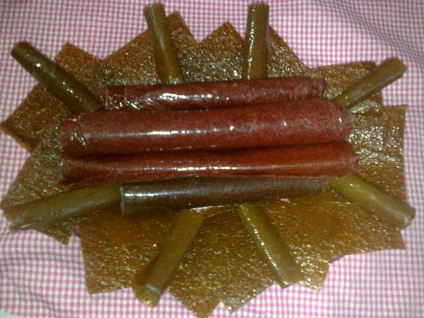 انواع لواشک - لواشک هفت میوه