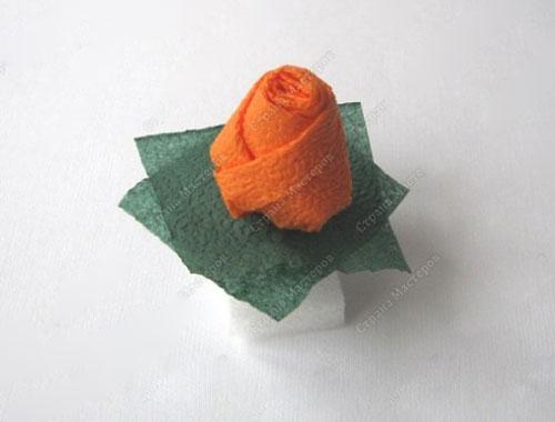 آموزش ساخت غنچه رز - آموزش گلسازی