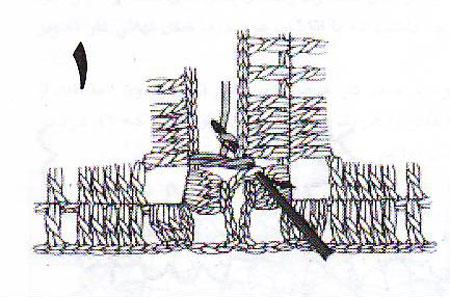 آموزش قلاب بافی - روش اتصال موتیف