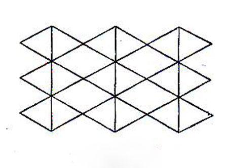 آموزش قلاب بافی - اتصال نقش های مثلثی