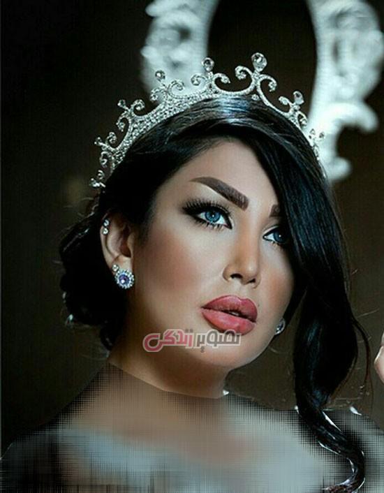 آرایش چهره عروس , شینیون عروس, مدل موی عروس