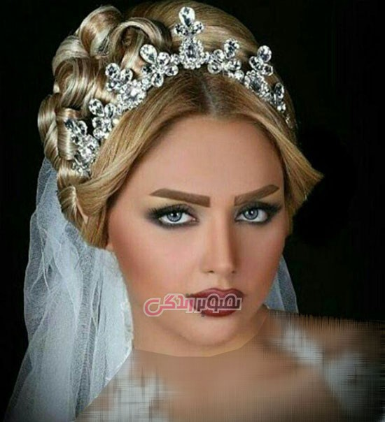 آرایش چهره عروس / مدل موی عروس