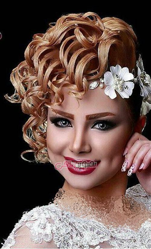 مدل شینیون عروس - مدل موی عروس - مدل آرایش عروس
