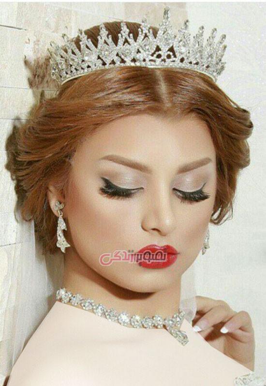 مدل آرایش و موی عروس - شینیون عروس