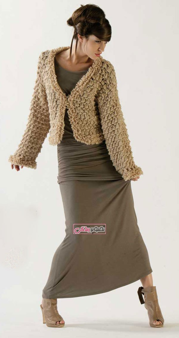 انواع مدل لباس بافتنی زنانه - لباس دستباف زنانه
