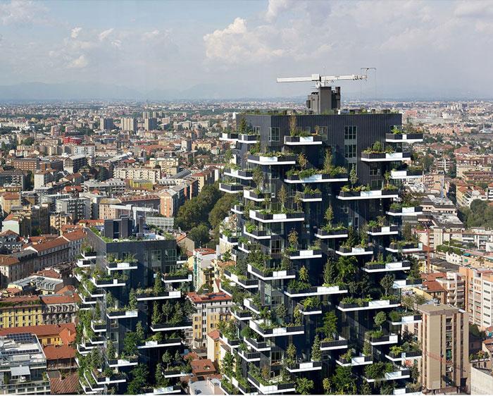 بلندترین برج سبز جهان در لوزان سوئیس