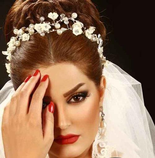 آرايش عروس - شينيون عروس - مدل موي عروس