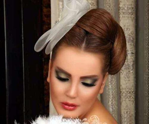 آرایش عروس - شینیون عروس - مدل موی عروس