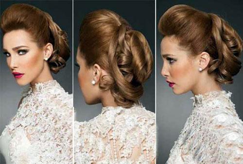 آرايش عروس ايراني - شينيون عروس - مدل موي عروس
