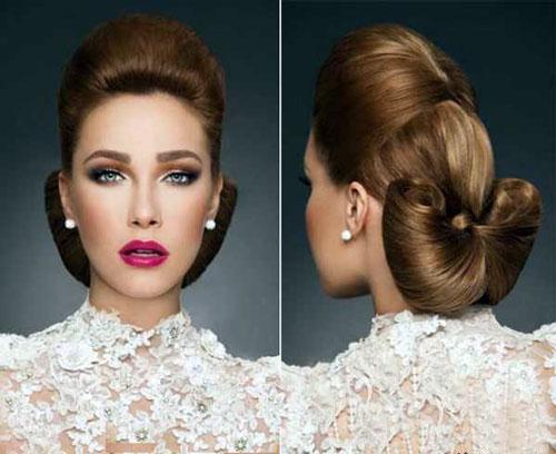 آرایش و موی عروس نو عروس  , آرايش عروس ايراني / مدل موي عروس (1)