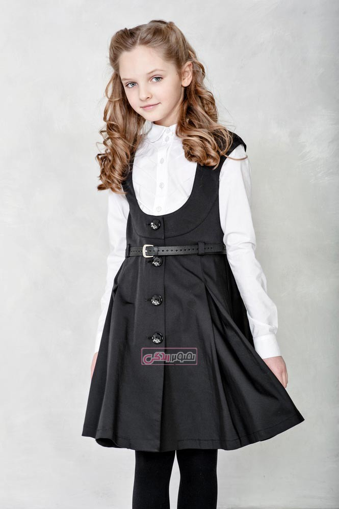 مدل سارافان دخترانه - مدل لباس پاییزی بچه گانه