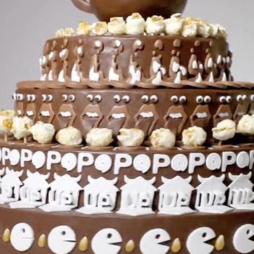 جالبترین کیک - کیک انیمیشنی - alexandre dubosc