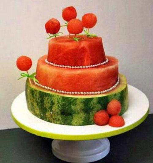 تزیین هندوانه شب یلدا - میوه آرایی شب یلدا